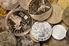 χώρες νομισμάτων διαφορε& συλλογή νομισμάτων Στοκ φωτογραφία με δικαίωμα ελεύθερης χρήσης