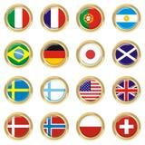 χώρες Στοκ εικόνες με δικαίωμα ελεύθερης χρήσης