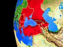 Χώρες BSEC από το διάστημα απεικόνιση αποθεμάτων