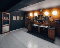 Χώρος ανάπαυσης εστιατορίων Στοκ Φωτογραφίες