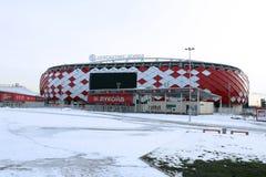 Χώρος ανοίγματος Spartak γηπέδου ποδοσφαίρου στη Μόσχα Στοκ Εικόνες