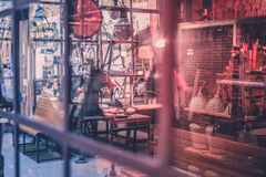 Χώρος εργασίας βιοτεχνίας, εργαστήριο, κατάστημα επισκευής Στοκ φωτογραφίες με δικαίωμα ελεύθερης χρήσης