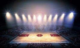 Χώρος καλαθοσφαίρισης Στοκ εικόνα με δικαίωμα ελεύθερης χρήσης