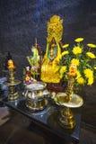 Χώρος λατρείας στους πύργους Cham Po Nagar στο Βιετνάμ Στοκ εικόνα με δικαίωμα ελεύθερης χρήσης