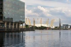 Χώρος Λονδίνο Ο2 Στοκ φωτογραφία με δικαίωμα ελεύθερης χρήσης