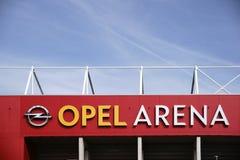 Χώρος Μάιντς Opel Στοκ φωτογραφία με δικαίωμα ελεύθερης χρήσης