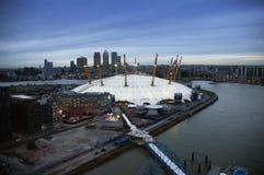 Χώρος Ο2, θόλος χιλιετίας, Λονδίνο Στοκ Φωτογραφίες