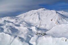 Χώρος σκι Silvretta Στοκ Εικόνες
