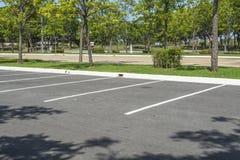Χώρος στάθμευσης αυτοκινήτων Στοκ Φωτογραφία