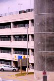 χώρος στάθμευσης γκαράζ Στοκ εικόνα με δικαίωμα ελεύθερης χρήσης