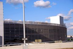 χώρος στάθμευσης γκαράζ Στοκ εικόνες με δικαίωμα ελεύθερης χρήσης