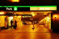 χώρος στάθμευσης γκαράζ Στοκ φωτογραφία με δικαίωμα ελεύθερης χρήσης