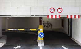 χώρος στάθμευσης γκαράζ Στοκ φωτογραφίες με δικαίωμα ελεύθερης χρήσης