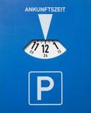 χώρος στάθμευσης δίσκων Στοκ φωτογραφία με δικαίωμα ελεύθερης χρήσης