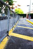 χώρος στάθμευσης εμποδί&ome Στοκ Εικόνες