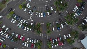 Χώρος στάθμευσης απόθεμα βίντεο
