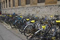 χώρος στάθμευσης κύκλων Στοκ φωτογραφία με δικαίωμα ελεύθερης χρήσης
