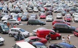 χώρος στάθμευσης μερών α&upsilo Στοκ Φωτογραφία