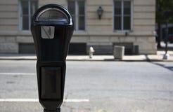 χώρος στάθμευσης μετρητών Στοκ Φωτογραφία