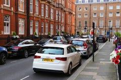 Χώρος στάθμευσης οδών του Λονδίνου στοκ φωτογραφίες με δικαίωμα ελεύθερης χρήσης