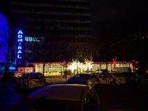 Χώρος στάθμευσης πόλεων Στοκ φωτογραφία με δικαίωμα ελεύθερης χρήσης