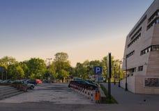 Χώρος στάθμευσης πόλεων Przemysl Στοκ Φωτογραφία