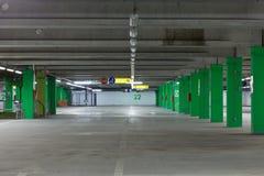 χώρος στάθμευσης s αυτοκινήτων Στοκ Εικόνες