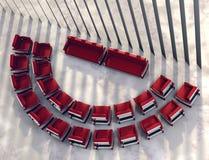 χώρος συνάντησης ευρύχωρ&omi Στοκ Εικόνες