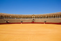 Χώρος ταυρομαχίας, Σεβίλλη, Ισπανία Στοκ Εικόνες