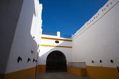 Χώρος ταυρομαχίας, plaza de toros στη Σεβίλλη, Ισπανία Στοκ Εικόνες