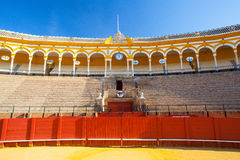 Χώρος ταυρομαχίας, plaza de toros στη Σεβίλλη, Ισπανία Στοκ Εικόνα