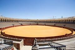 Χώρος ταυρομαχίας, plaza de toros στη Σεβίλη, Λα Maestranza Στοκ εικόνα με δικαίωμα ελεύθερης χρήσης