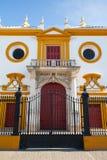 Χώρος ταυρομαχίας, plaza de toros στη Σεβίλλη Στοκ Φωτογραφία