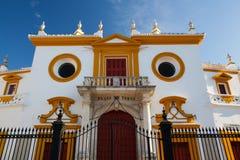 Χώρος ταυρομαχίας, plaza de toros στη Σεβίλλη Στοκ Φωτογραφίες