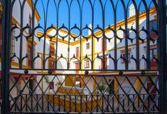 Χώρος ταυρομαχίας, plaza de toros στη Σεβίλλη Στοκ φωτογραφία με δικαίωμα ελεύθερης χρήσης