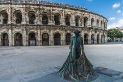 χώρος arles Γαλλία Ρωμαίος Στοκ Φωτογραφία
