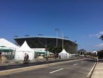 Χώρος Vollleyball παραλιών - Ολυμπιακοί Αγώνες και Paralympics 2016 στοκ εικόνα με δικαίωμα ελεύθερης χρήσης