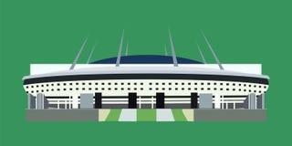 Χώρος Zenit σταδίων Krestovsky ελεύθερη απεικόνιση δικαιώματος