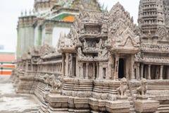 Χλεύη επάνω στο ναό Preah Vihear Στοκ εικόνα με δικαίωμα ελεύθερης χρήσης