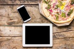 Χλεύη επιχειρησιακού μεσημεριανού γεύματος επάνω Στοκ φωτογραφίες με δικαίωμα ελεύθερης χρήσης