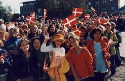 Χ Μ Η ΒΑΣΙΛΙΣΣΑ MARGRETHE ΚΑΙ ΠΡΙΓΚΗΠΑΣ HENRIK VISISTS Στοκ Φωτογραφίες
