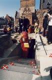 Χ Μ Η ΒΑΣΙΛΙΣΣΑ MARGRETHE ΚΑΙ ΠΡΙΓΚΗΠΑΣ HENRIK VISISTS Στοκ φωτογραφία με δικαίωμα ελεύθερης χρήσης