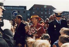 Χ Μ Η ΒΑΣΙΛΙΣΣΑ MARGRETHE ΚΑΙ ΠΡΙΓΚΗΠΑΣ HENRIK VISISTS Στοκ Εικόνα
