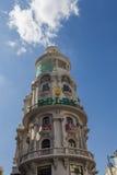 Χλοώδες κτήριο Edificio στη Μαδρίτη στοκ φωτογραφία με δικαίωμα ελεύθερης χρήσης