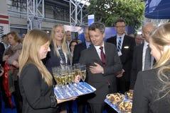 Χ ρ ΔΙΑΔΟΧΟΣ ΤΟΥ ΘΡΟΝΟΥ FREDERIK_EWEA ΠΑΡΆΚΤΙΑ ΤΟ 2015 Στοκ εικόνες με δικαίωμα ελεύθερης χρήσης