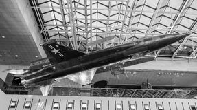 Χ-15 τα υπερηχητικά αεροσκάφη, κόσμος ` s επάνδρωσαν ο γρηγορότερα το αεροπλάνο #1 Στοκ Εικόνα