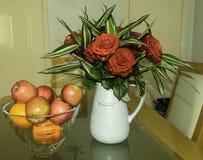 Χλωρίδα φρούτων ν στοκ φωτογραφίες