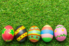 χλόη αυγών Πάσχας πράσινη Στοκ Εικόνα