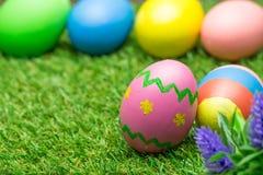 χλόη αυγών Πάσχας πράσινη Στοκ εικόνες με δικαίωμα ελεύθερης χρήσης