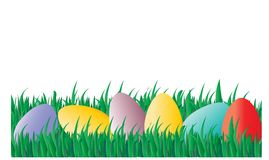 χλόη αυγών Πάσχας στοκ εικόνα